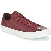 Chaussures Femme Baskets basses Converse CHUCK TAYLOR ALL STAR LEATHER OX Bordeaux