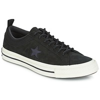 Chaussures Baskets basses Converse ONE STAR LEATHER OX Noir