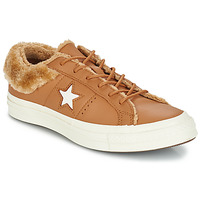 Chaussures Femme Baskets basses Converse ONE STAR LEATHER OX Camel