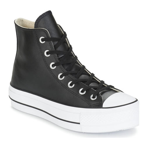 Converse Chuck Taylor All Star Lift Leather High au meilleur