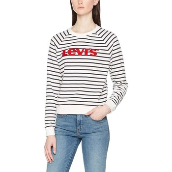 Vêtements Homme Sweats Levi's Levis Sudadera Mujer Relaxed Crew Blanco Marino Multicolore