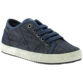 Chaussures Fille Baskets basses Geox Basket J Alonisso B.C Jeans Bleu