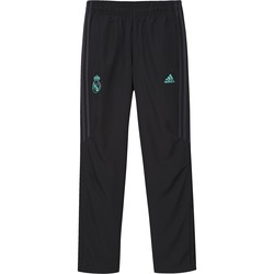 Vêtements Garçon Pantalons de survêtement adidas Originals Pantalon junior Real Madrid 2017/2018 noir/gris