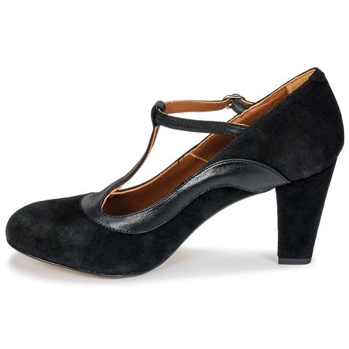 Betty Jutok Femme London Noir Chaussures Escarpins v8nmON0w