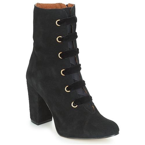 Chaussures Femme Bottines Betty London JIFULA Noir