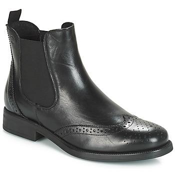 5ec9bf6c41d0 Chaussures Femme Boots Betty London Josta Noir