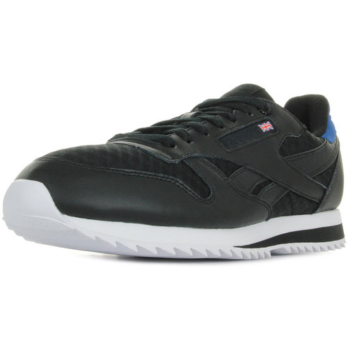 c6916422144ad Reebok Sport Classic leather noir - Chaussures Baskets basses Homme ...