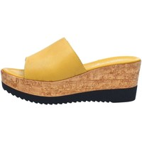 Chaussures Femme Claquettes Cinzia Soft IAF2331-28 Sandales Femme Yellow Yellow