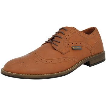 Chaussures Homme Richelieu Ben Sherman 4 EYE FASHION BROGUE Chaussures de Ville Homme synthétique brunben3161