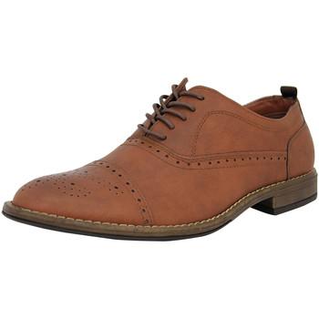 Chaussures Homme Richelieu Ben Sherman 4 EYE FASHION BROGUE Chaussures de Ville Homme synthétique brunben3157