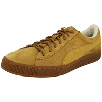 Chaussures Homme Baskets basses Puma CLASSIC WINTERIZED Chaussures Mode Sneakers Homme Cuir Suede braun