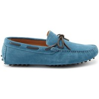 Chaussures Homme Mocassins Hugs & Co. Lacé Mocassins en daim Bleu