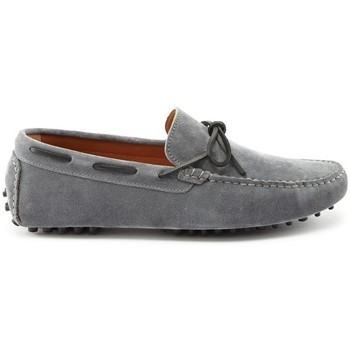 Chaussures Homme Mocassins Hugs & Co. Lacé Mocassins en daim Gris