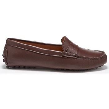 Chaussures Femme Mocassins Hugs & Co. Mocassins penny cuir Marron