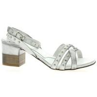 Chaussures Femme Sandales et Nu-pieds Pao Nu pieds cuir Blanc