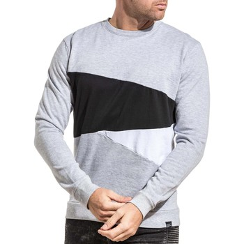 Vêtements Homme Sweats Tiffosi Sweat molleton homme tri-color gris