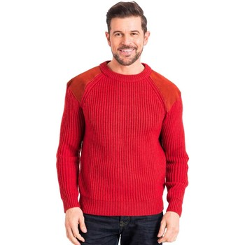 Vêtements Homme Pulls Woolovers Pull Countryman Homme rouge