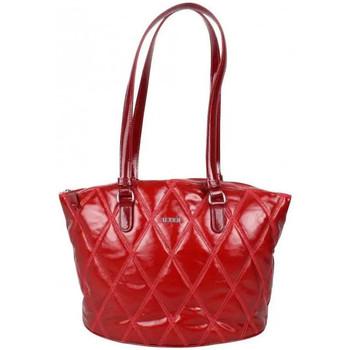 Sacs Femme Sacs porté épaule Texier Sac épaule bateau verni matelassé de marque  France 23622 Ophéli Rouge