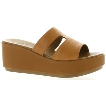 Chaussures Femme Sandales et Nu-pieds Inuovo Mules cuir Cognac