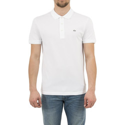 Vêtements Homme Polos manches courtes Lacoste ph4014 blanc