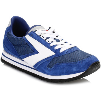 Chaussures Garçon Baskets basses Brooks Mens Navy Blue/White Chariot Trainers Brooks_1