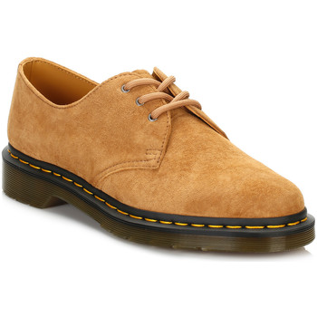 Chaussures Garçon Derbies Dr Martens Dr. Martens Mens Tan 1461 3 Eye Nubuck Shoes Dr Martens_662