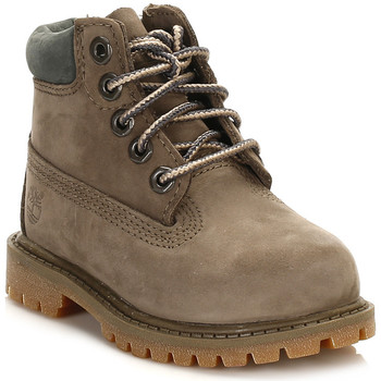 Chaussures Enfant Boots Timberland Toddlers Canteen Brown 6 Inch Premium Waterproof Boots Timberland_709