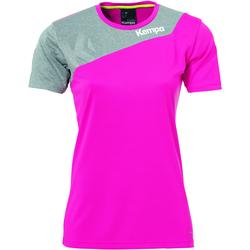 Vêtements Femme T-shirts & Polos Kempa Maillot femme  Core 2.0 rose flash/gris