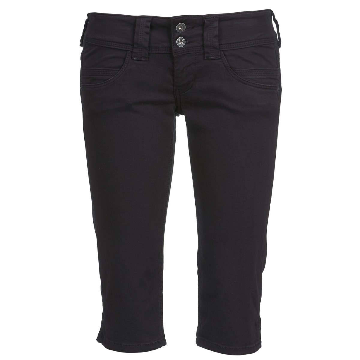 Pantalons 7/8 et 3/4 Pepe jeans VENUS CROP Noir