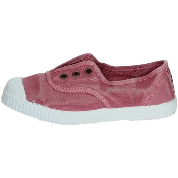 Chaussures Enfant Baskets basses Cienta 70777 Petite Sneakers Fille Rose Rose