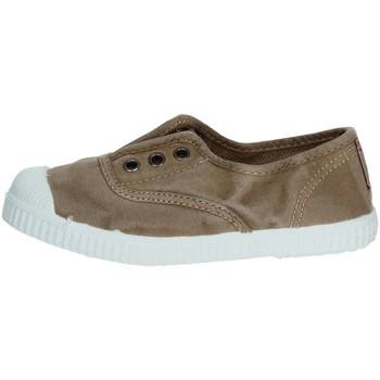 Chaussures Enfant Baskets basses Cienta 70777 Marron Taupe