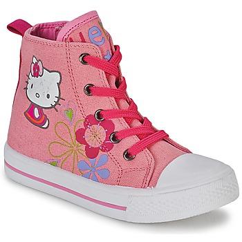 Basket montante Hello Kitty LONS Rose 350x350