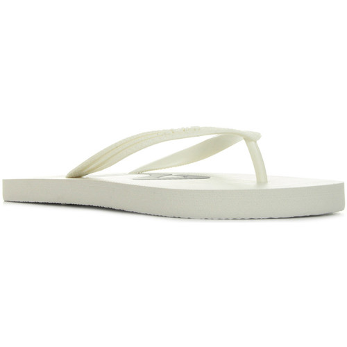 Fila Troy Slipper White Wmns blanc - Chaussures Tongs