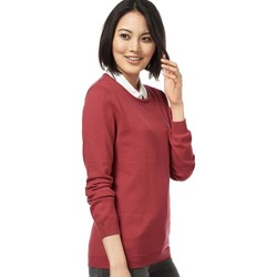Vêtements Femme Pulls Woolovers Pull à col rond Femme rouge
