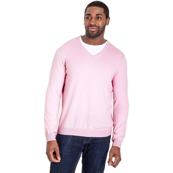 Vêtements Homme Pulls Woolovers Pull à col V Homme rose