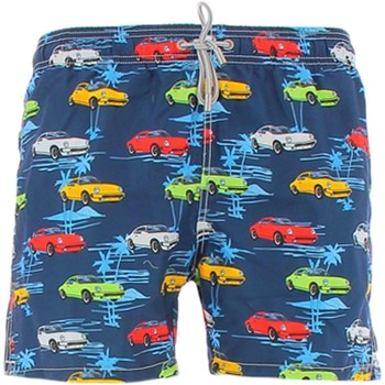 Vêtements Homme Shorts / Bermudas Mc2 Saint Barth GUSTAVIA costumes Homme bleu bleu