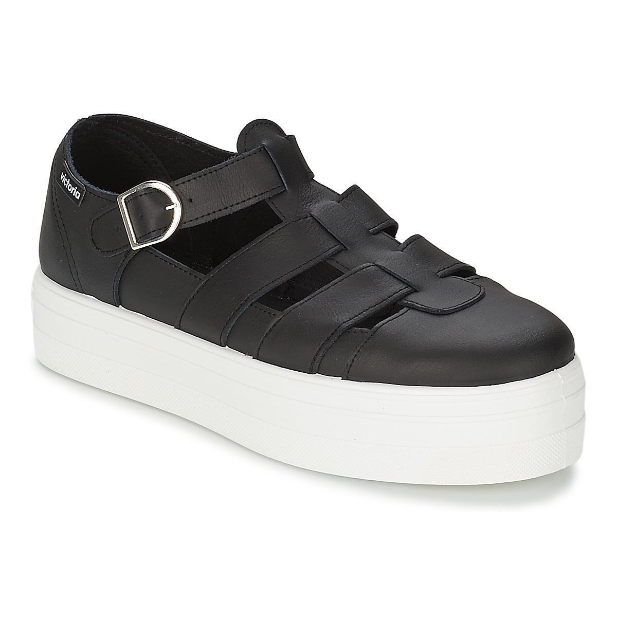 Sandale Victoria SANDALIA PIEL Noir