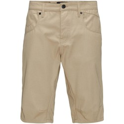 Vêtements Homme Shorts / Bermudas Jack & Jones LESTER LONG Beige