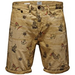 Vêtements Homme Shorts / Bermudas Jack & Jones ERIK PABLO Beige