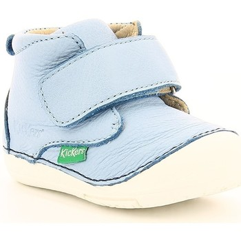 Chaussures Enfant Boots Kickers SABIO LIGHT BLUE NAVY