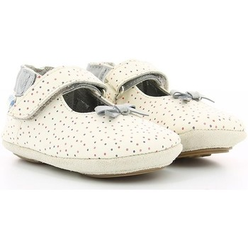Chaussures Fille Ballerines / babies Robeez DOTTIES OFF WHITE