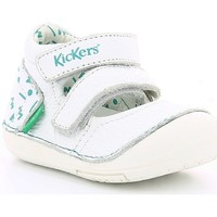 Chaussures Fille Ballerines / babies Kickers SOLA WHITE LIGHT BLUE