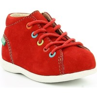 Chaussures Enfant Boots Kickers BABYSTAD ROUGE