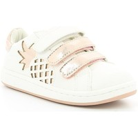 Chaussures Fille Baskets basses Mod 8 TWEET BLANC OPTICAL