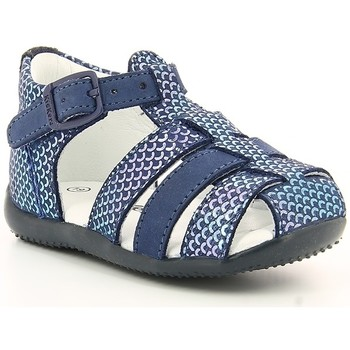 Chaussures Fille Sandales et Nu-pieds Kickers BIGFLY NAVY BLUE