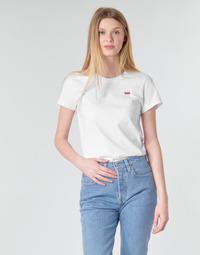 Vêtements Femme T-shirts manches courtes Levi's PERFECT TEE Blanc