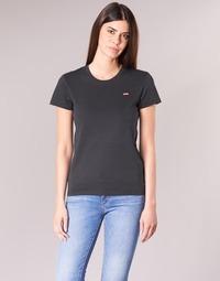 Vêtements Femme T-shirts manches courtes Levi's PERFECT TEE Noir