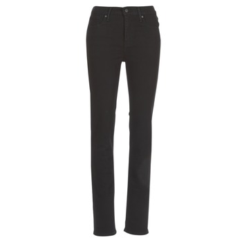Vêtements Femme Jeans droit Levi's 724 HIGH RISE STRAIGHT BLACK SHEEP