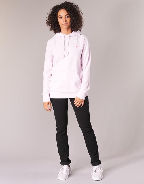 Vêtements Femme Jeans droit Levi's 724 HIGH RISE STRAIGHT Noir