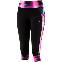 Vêtements Femme Leggings Puma RUNNING GRAPHIC Noir Rose